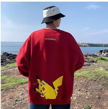 Load image into Gallery viewer, Pikachu Two Side Printed Sweatshirt