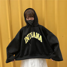 Load image into Gallery viewer, Indiana Printed Loose Oversize Hoodie