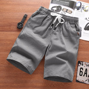 Casual Linen Cotton Shorts