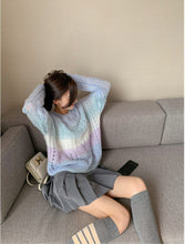Load image into Gallery viewer, Loose Sweet Colors Knitted Sweater
