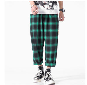 Joggers Plaid Pants