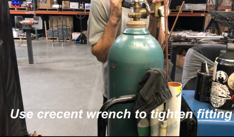 How to transport weld cylinders welding gas safety