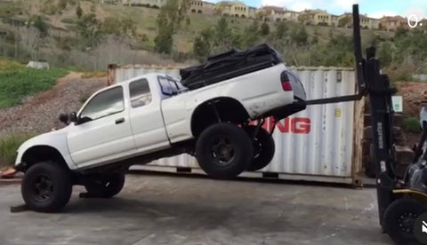long travel tacoma first generation truck build how to prerunner overlander