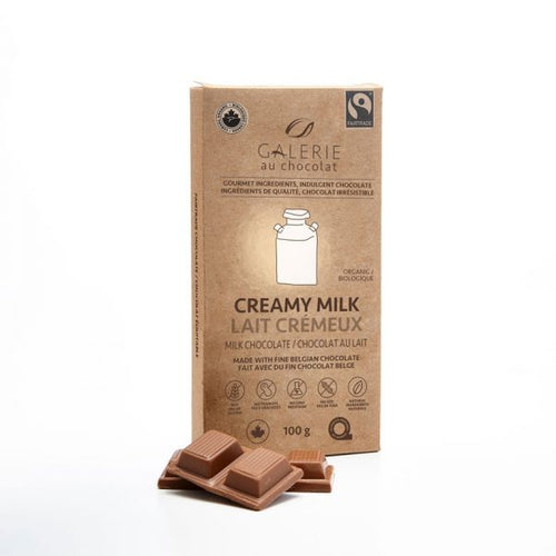 Fairtrade – Milk Chocolate 36% Creamy Milk 100g