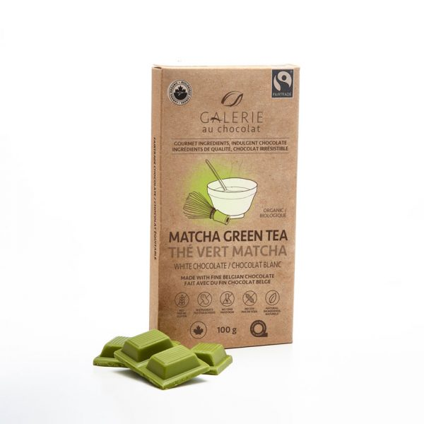 Fairtrade – White Chocolate Matcha Green Tea 100g