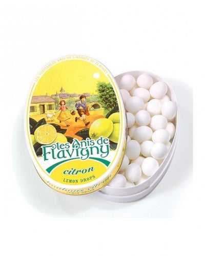 Oval Anis Lemon Candy Box 50g