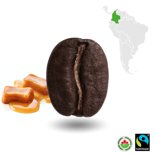 Colombian Dark Certified Fairtrade Organic