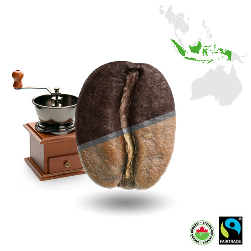Sumatra Half-Dark Certified Fairtrade Organic