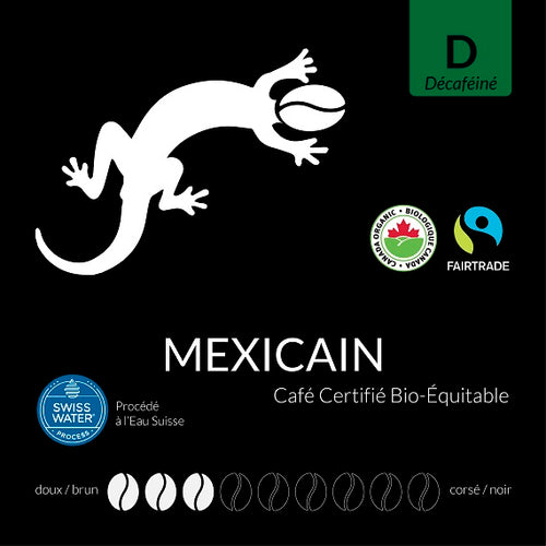 Mexican Decaffeinated Certified Fairtrade Organic (Swiss Water Process)