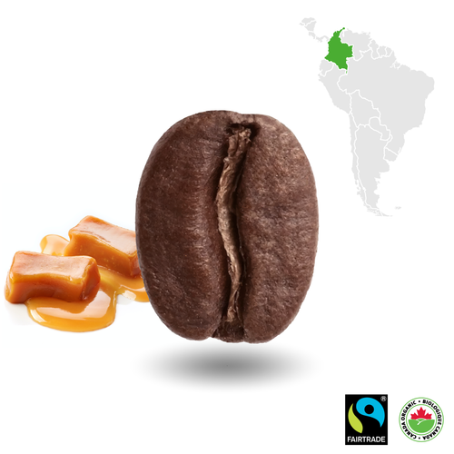 100% Colombian Certified Fairtrade Organic