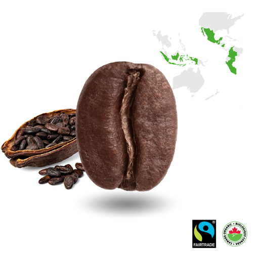 Espresso Medium Certified Fairtrade Organic