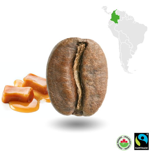 Colombian Light Certified Fairtrade Organic