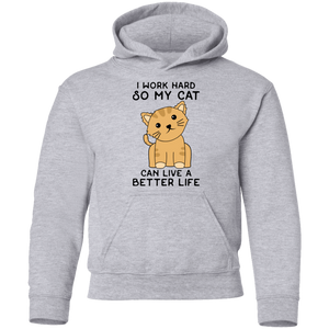 G185B Youth Pullover Hoodie-Sweatshirts-Unique Clothing Design