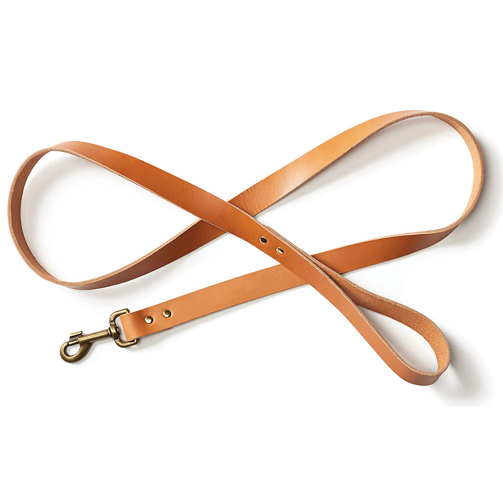 Bridle Leather Dog Leash