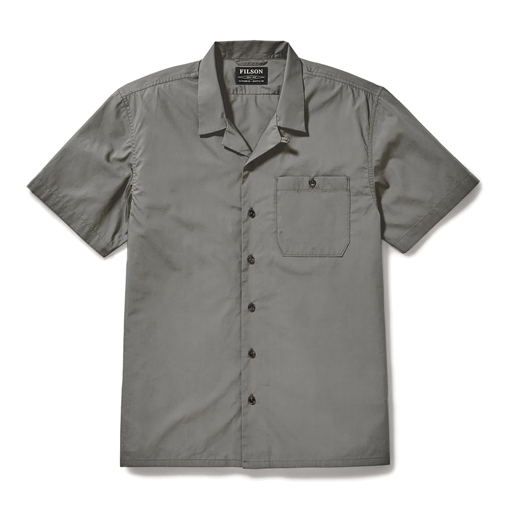 Feather Cloth Camp Shirt