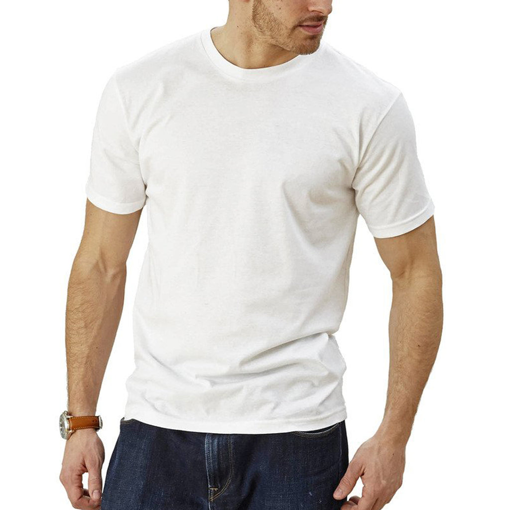 Short Sleeve Slim Fit White T