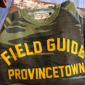 Provincetown Fleece Crewneck in Camo