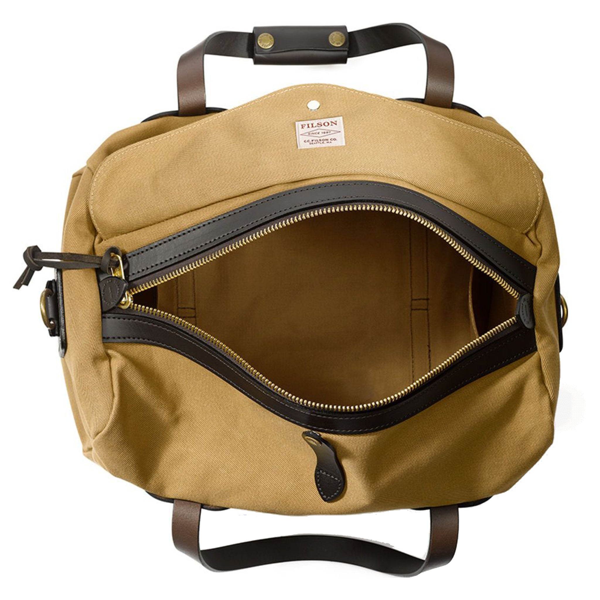 Small Twill Duffle Bag