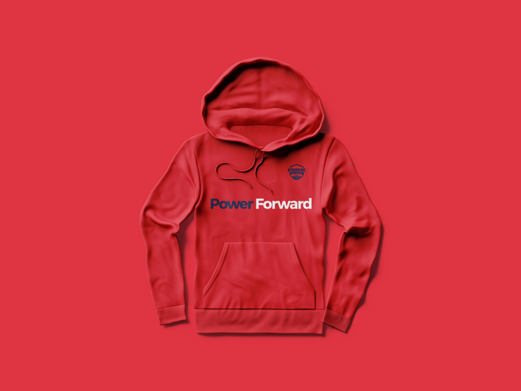 Power Forward Hoodie - White