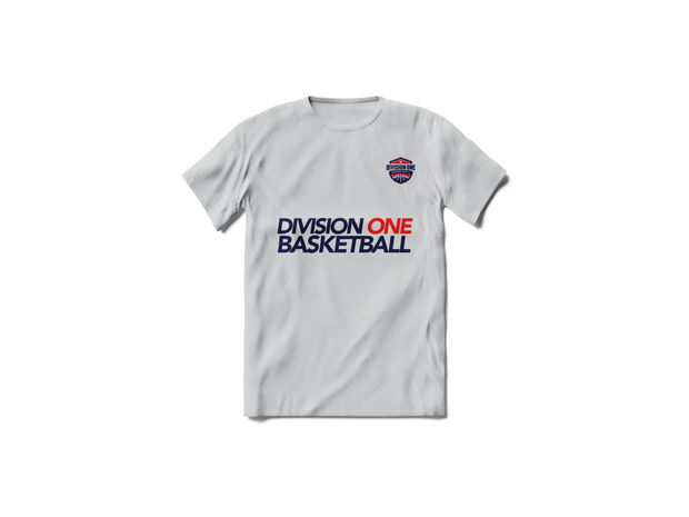 Division One Basketball T-shirt (Grey)