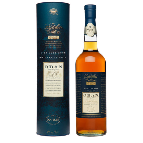 Oban 2019 Distillers Edition Single Malt Scotch Whisky, 70cl