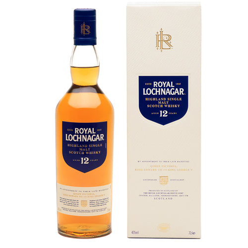 Royal Lochnagar 12 Year Old Single Malt Scotch Whisky, 70cl