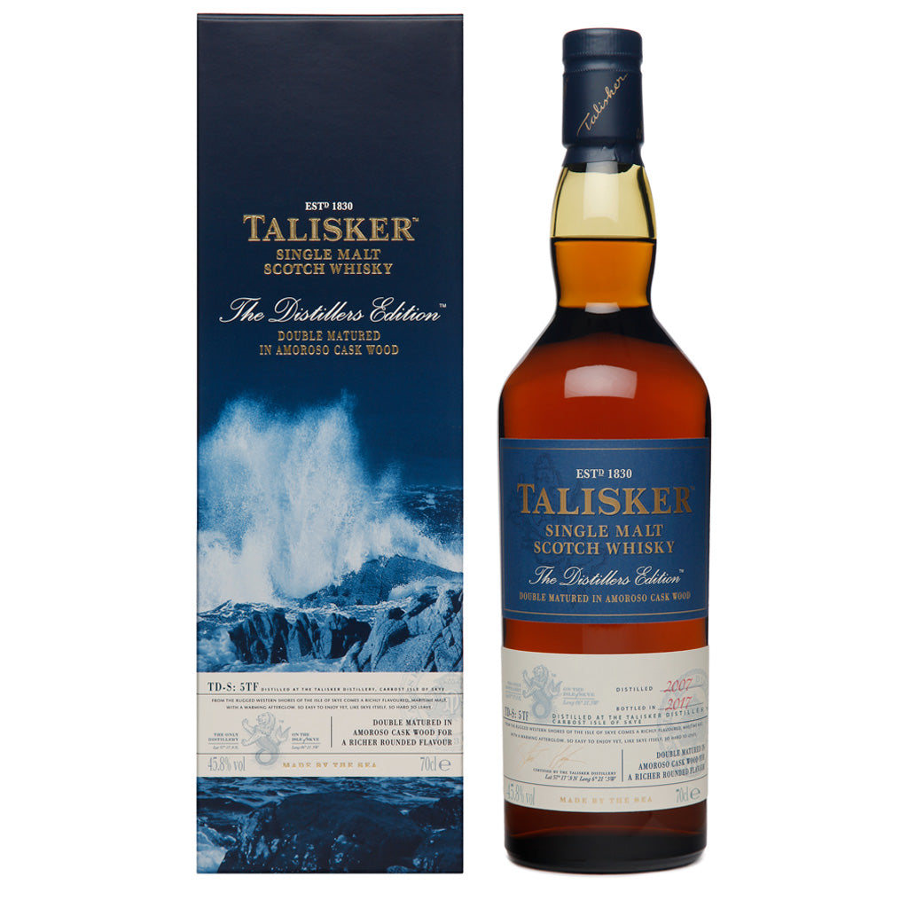 Talisker 2017 Distillers Edition Single Malt Scotch Whisky, 70cl