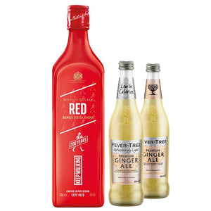 Johnnie Walker Red Label 70cl (Plus Free Fever Tree Ginger Ale 2 x 500ml)