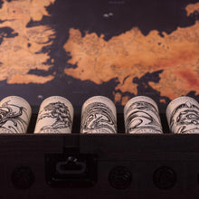 Load image into Gallery viewer, Game of Thrones Whisky Collection Chest plus 8 Bottle Collection