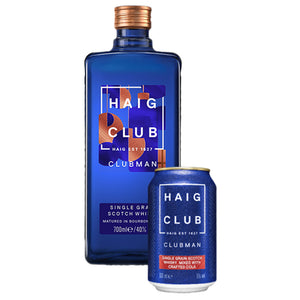 Haig Club Clubman Single Grain Scotch Whisky, 70cl (Plus A Free Haig Club Crafted Cola Signature Serve)