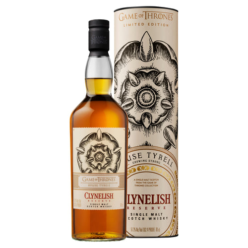House Tyrell Clynelish Reserve Single Malt Scotch Whisky, 70cl