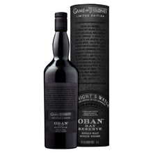 Load image into Gallery viewer, The Night's Watch Oban Bay Reserve Single Malt Scotch Whisky, 70cl
