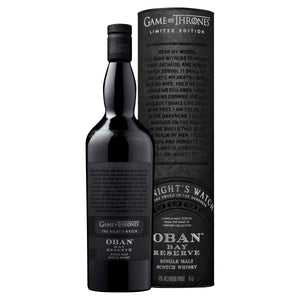 The Night's Watch Oban Bay Reserve Single Malt Scotch Whisky, 70cl