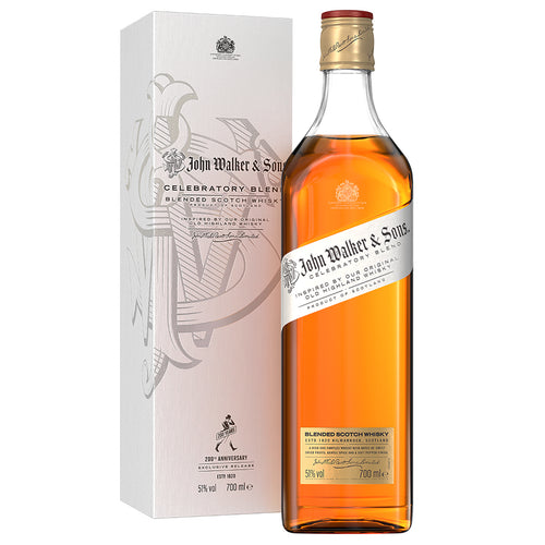 John Walker and Sons 200th Anniversary Celebratory Blend, Blended Scotch Whisky, 70 cl