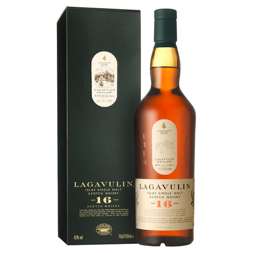 Lagavulin 16 Year Old Single Malt Scotch Whisky, 70cl