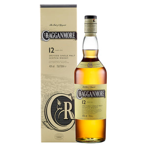 Cragganmore 12 Year Old Single Malt Scotch Whisky,  70cl