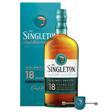 Load image into Gallery viewer, The Singleton Of Dufftown 18 Year Old (Plus Free ROLL'N'POUR JIGGER)