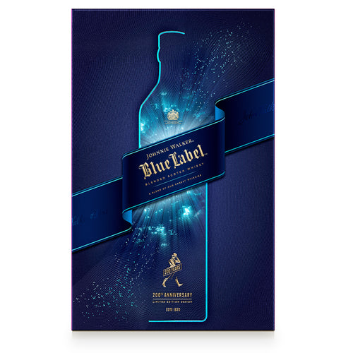 Johnnie Walker Blue Label Gift pack with 2 Glasses