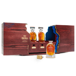 Brora Triptych Single Malt Scotch Whisky, 3x50cl
