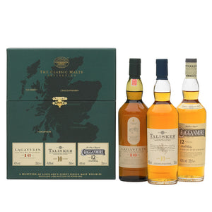 The Whisky Classic Malts™ Strong Collection Gift Pack 3x20cl