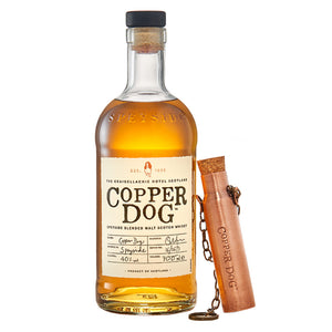 Copper Dog Blended Scotch Whisky (Gift Dipper Included)