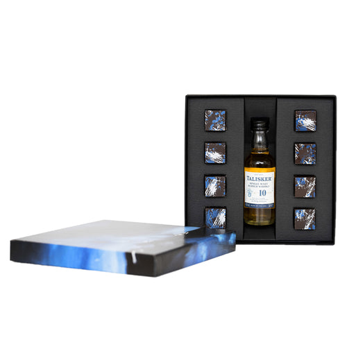 Talisker 10 Year Old & COCO Sea Salted Caramel Gift Set