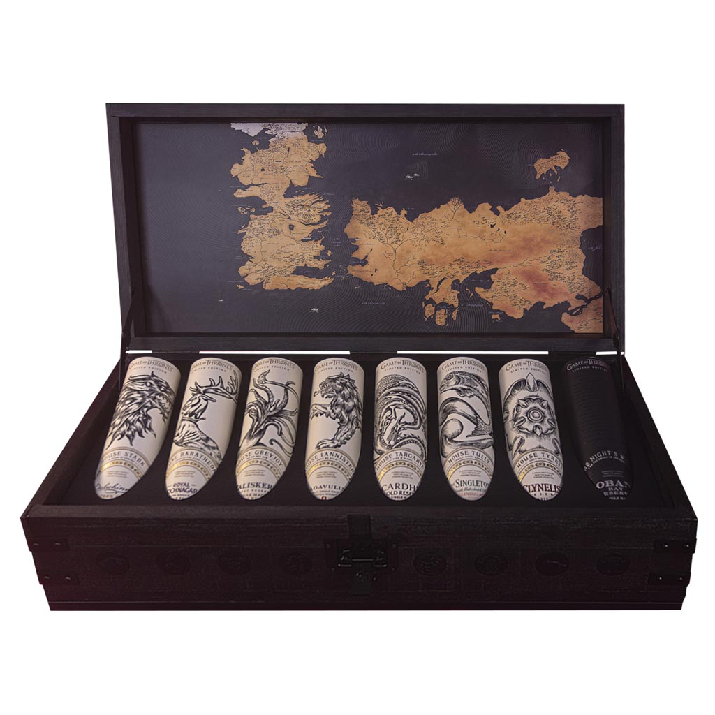 Game of Thrones Whisky Collection Chest (Chest Only)