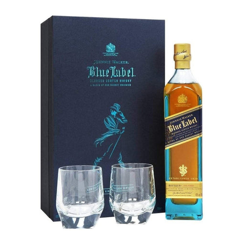 Johnnie Walker Blue Label - 2 Crystal Glass Pack