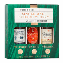 Load image into Gallery viewer, Classic Malts Exploration Pack Single Malt Scotch Whisky, 3x5cl