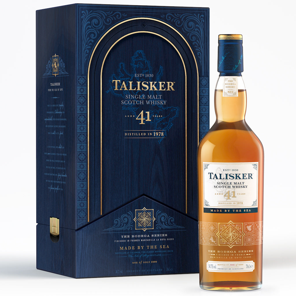 Talisker Bodega 41 Year Old Single Malt Scotch Whisky, 70cl