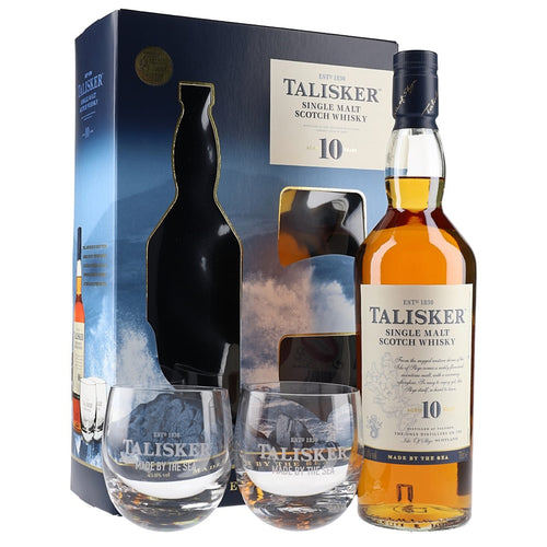 Talisker 10 Year Old - 2 Glass Pack