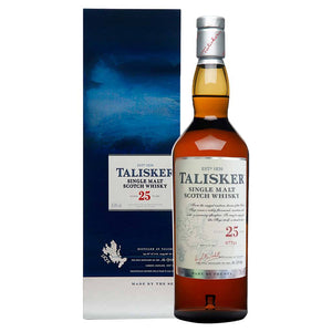 Talisker 25 Year Old Single Malt Scotch Whisky, 70cl (Gift Mug Included)