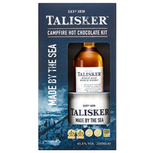 Load image into Gallery viewer, Talisker Hot Chocolate Giftpack with Talisker 10 Year Old 20cl, Enamel Mug and Hot Chocolate Powder