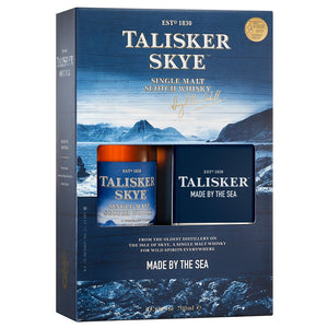 Talisker Skye Hip Flask Pack (Gift Mug Included)